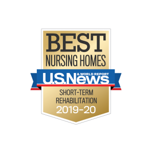 U.S. News Best Nursing Homes Short Term Rehabilitation 2019-2020 Award