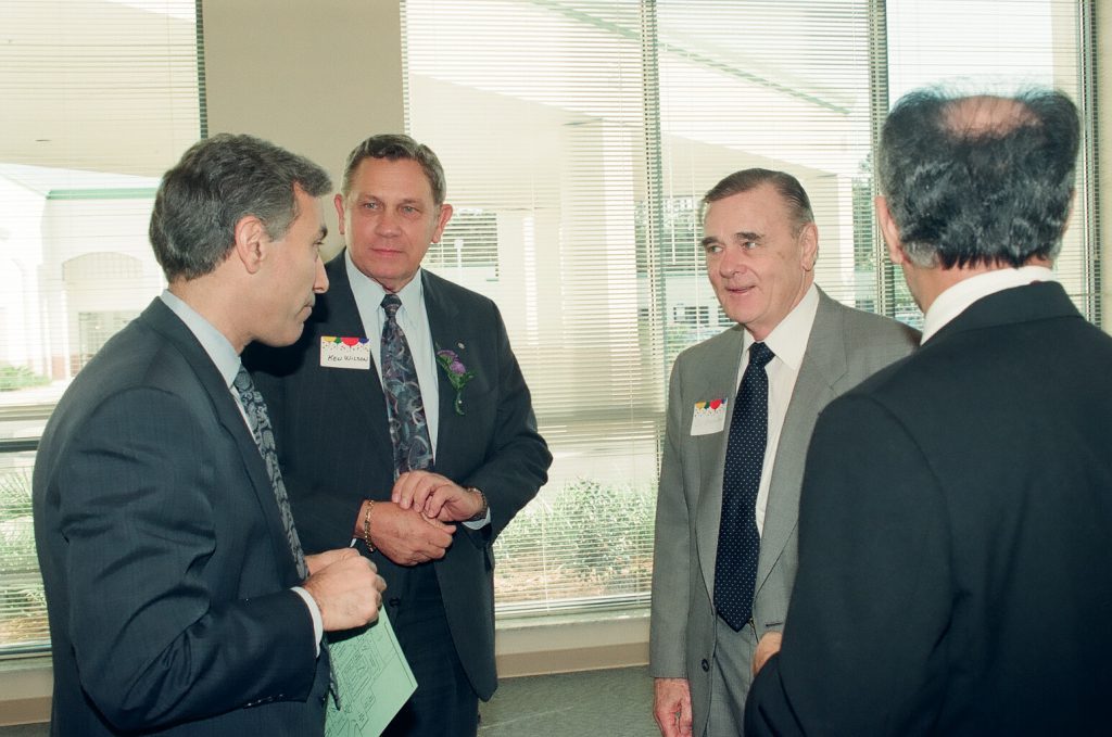 Dr. J Brooks Brown with colleagues