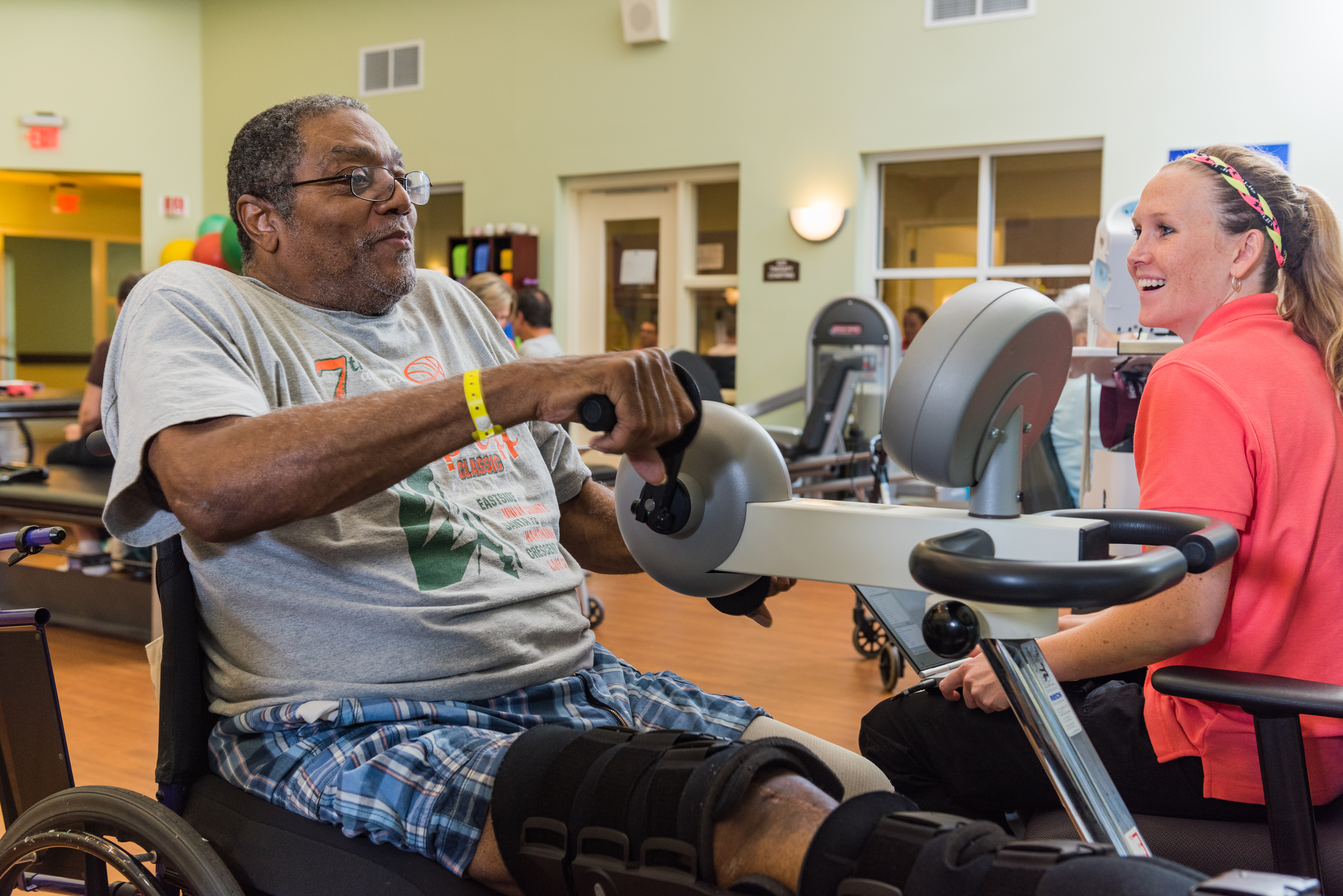 therapy in a skilled nursing facility