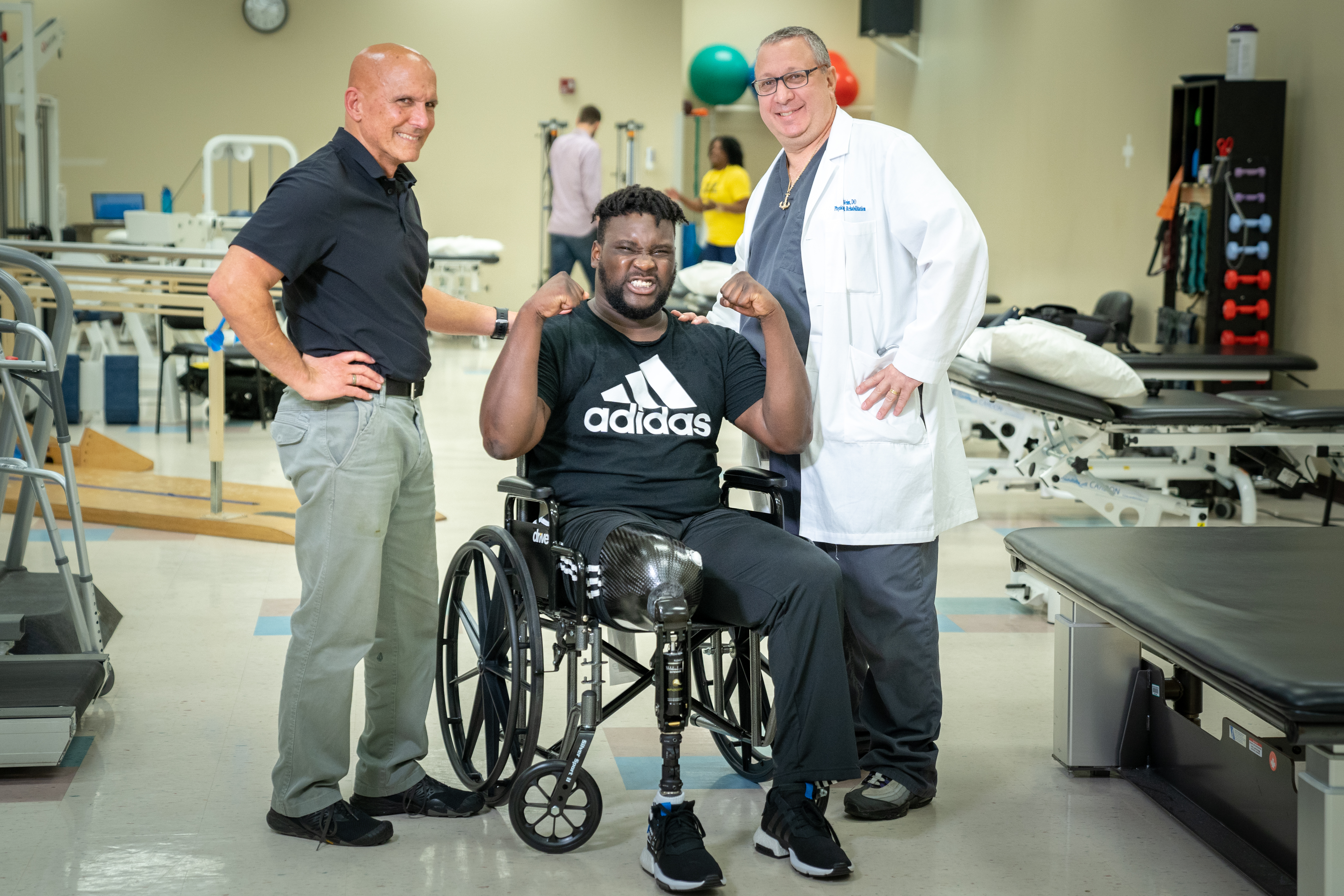 Dr. Weiss with Jalen